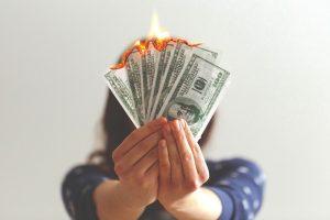 gaspillage d'argent en publicité